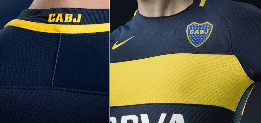 Camiseta titular de Boca | Imágenes Tienda Oficial