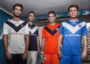 Nuevas casacas del Brescia | Foto Web Oficial