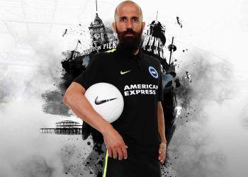 Nueva camiseta suplente del Brighton | Foto Web Oficial