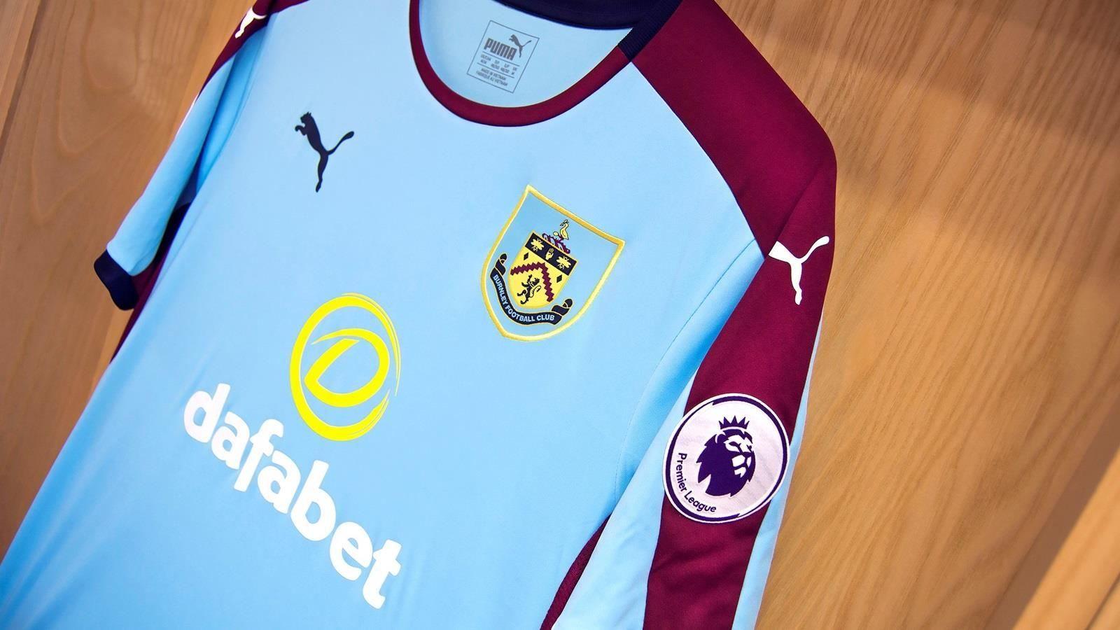 Camiseta suplente del Burnley | Foto Web Oficial