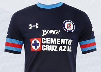 Camiseta alternativa Under Armour del Cruz Azul para 2016/2017 | Imágenes Tienda Oficial