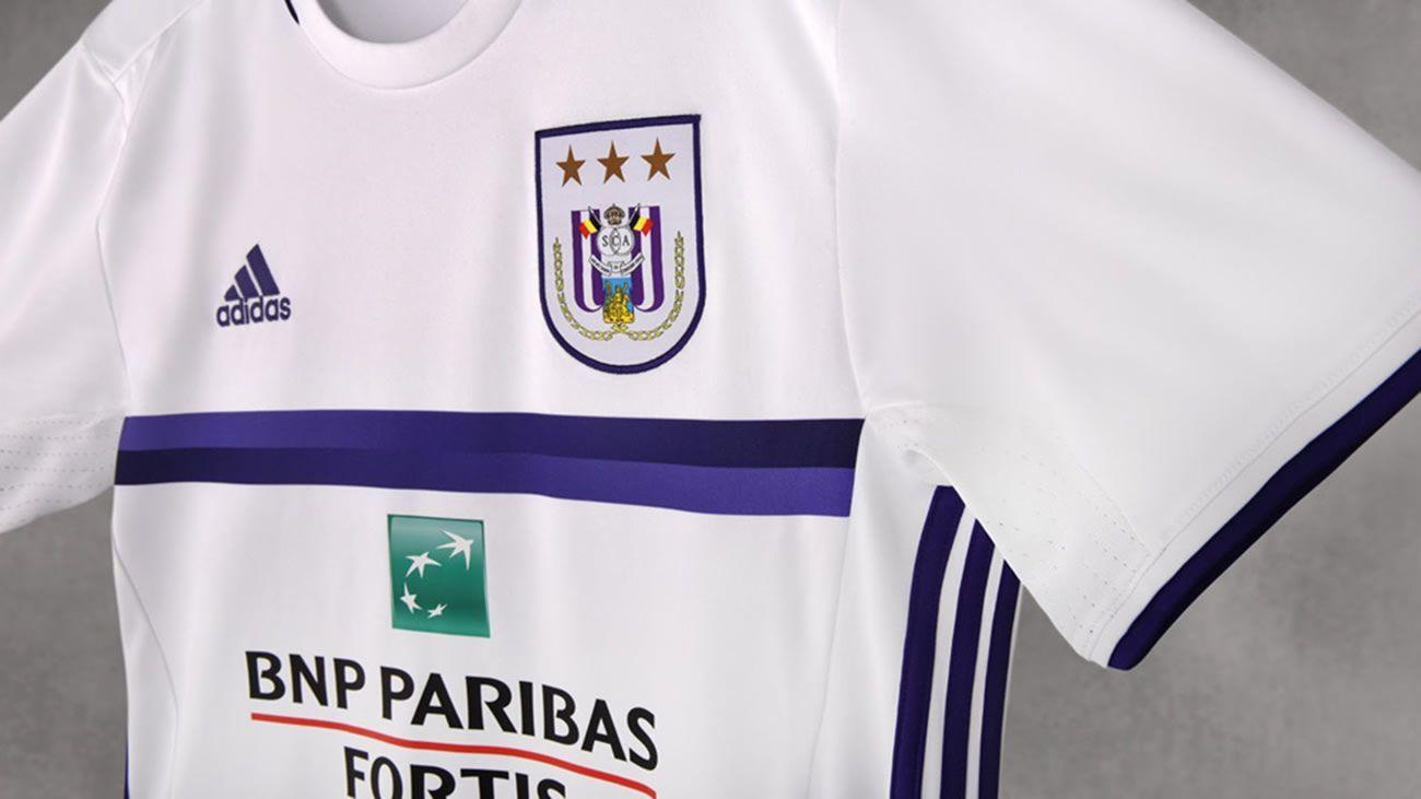 Nueva camiseta suplente Adidas del RSC Anderlecht | Foto web oficial