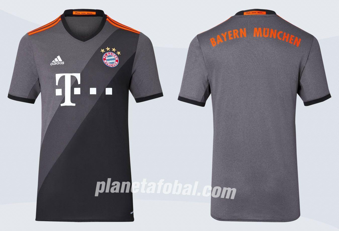 Camiseta suplente Adidas del FC Bayern para 2016/2017 | Imágenes Tienda oficial