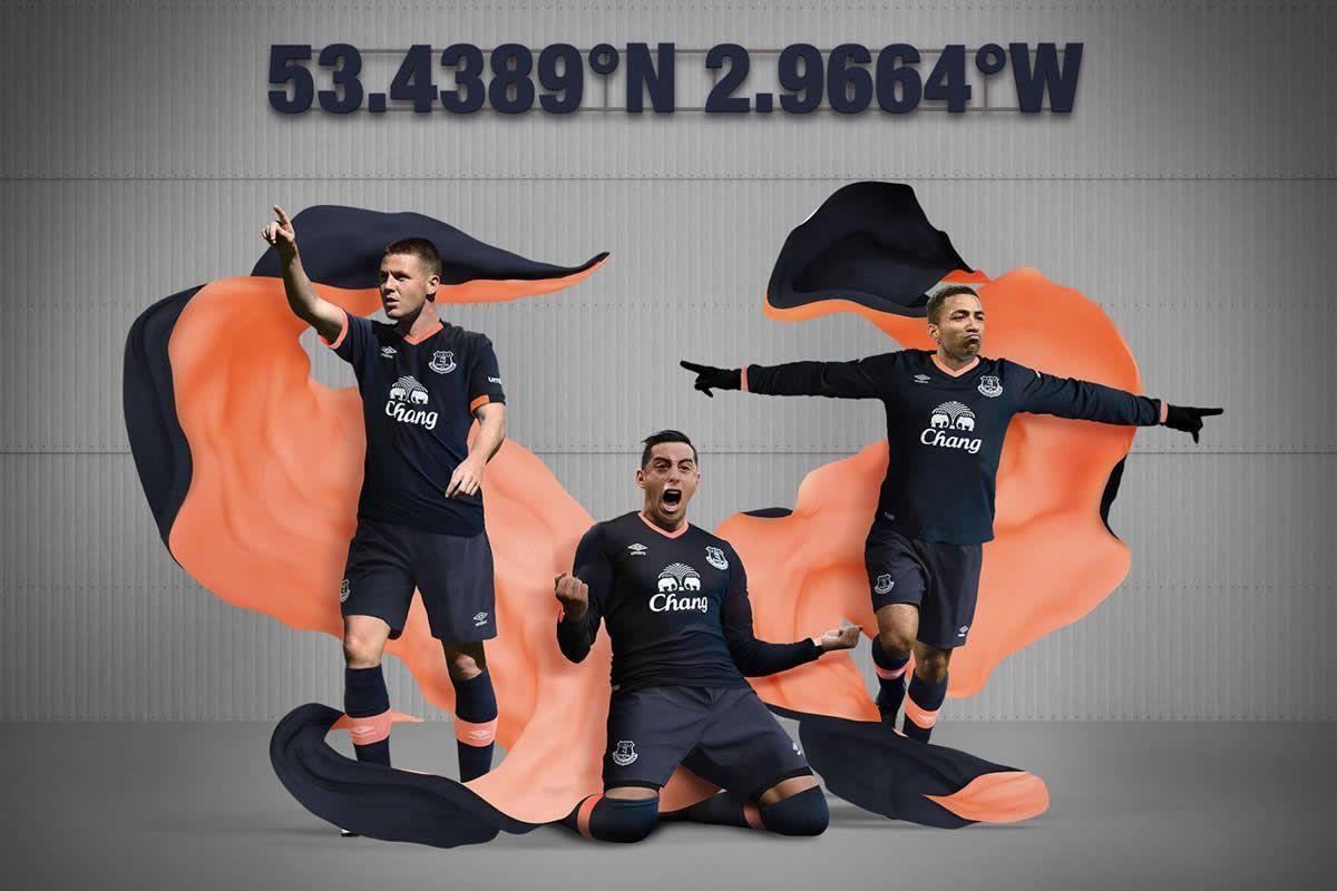 Camiseta suplente del Everton FC para 2016/2017 | Foto web oficial