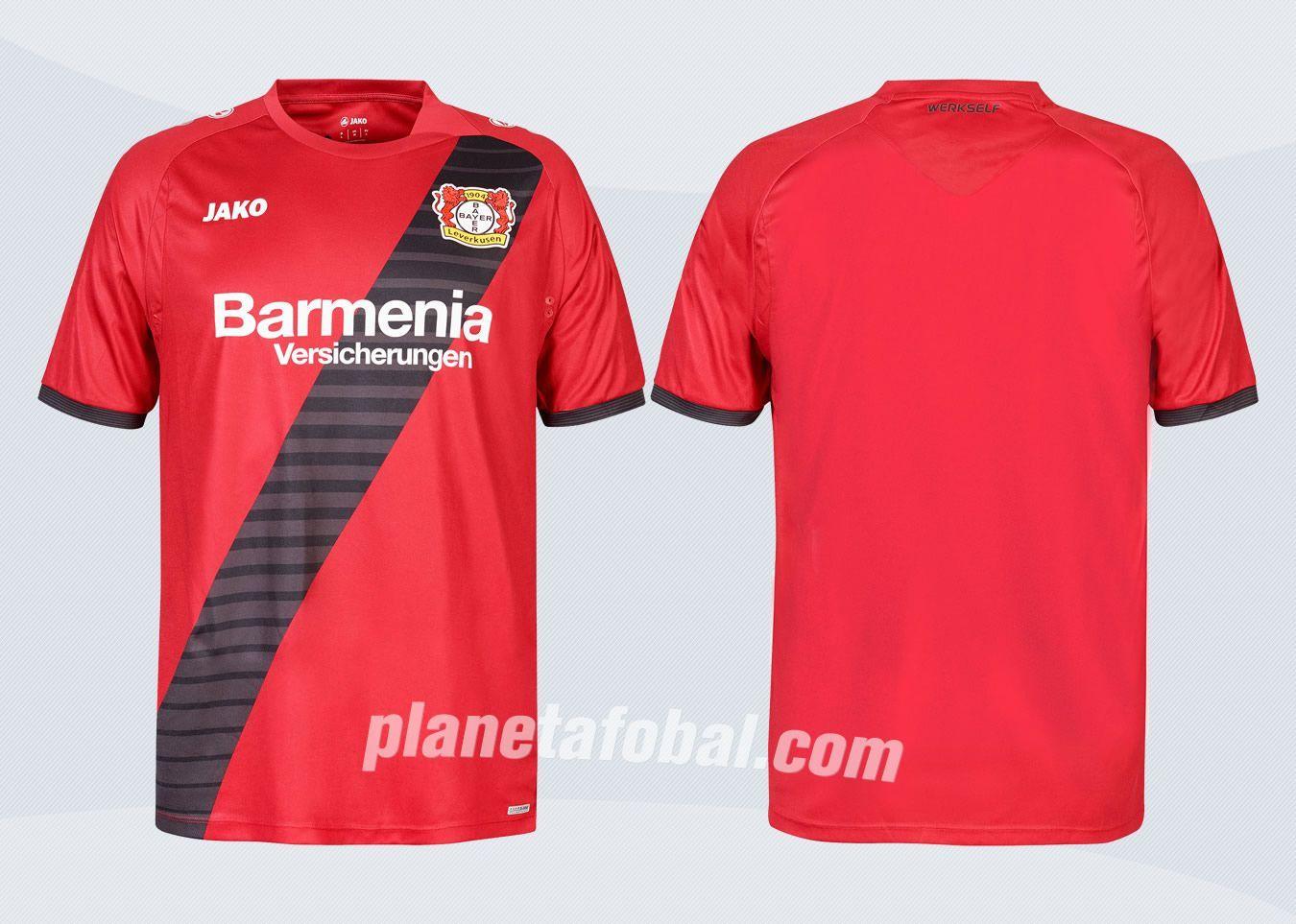 Camiseta suplente Jako del Bayer Leverkusen para 2016/2017 | Imágenes Tienda Oficial