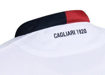 Camiseta suplente Macron del Cagliari Calcio para 2016/2017 | Foto Tienda Oficial