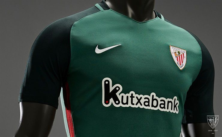 Camiseta suplente del Athletic Club de Bilbao | Foto Web Oficial