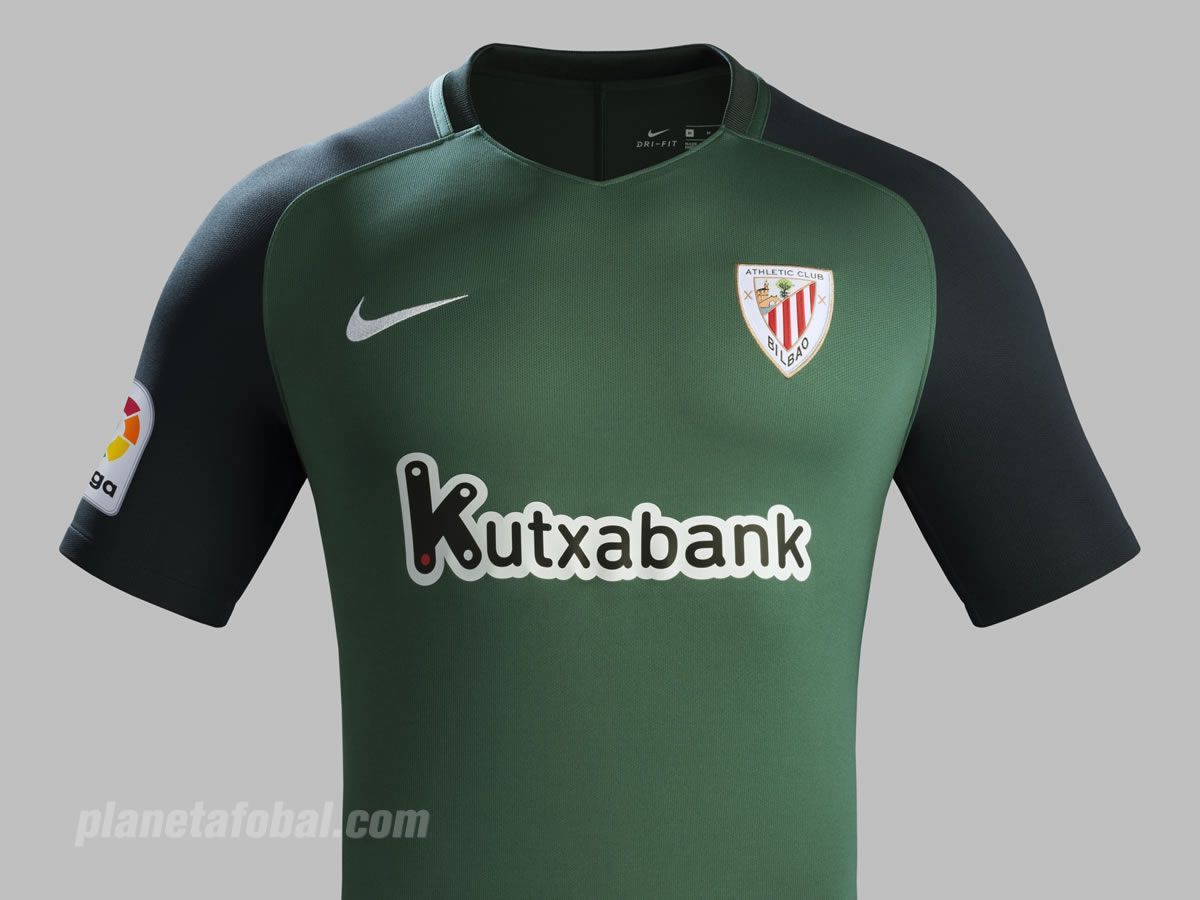 Camiseta suplente del Athletic Club de Bilbao | Foto Nike