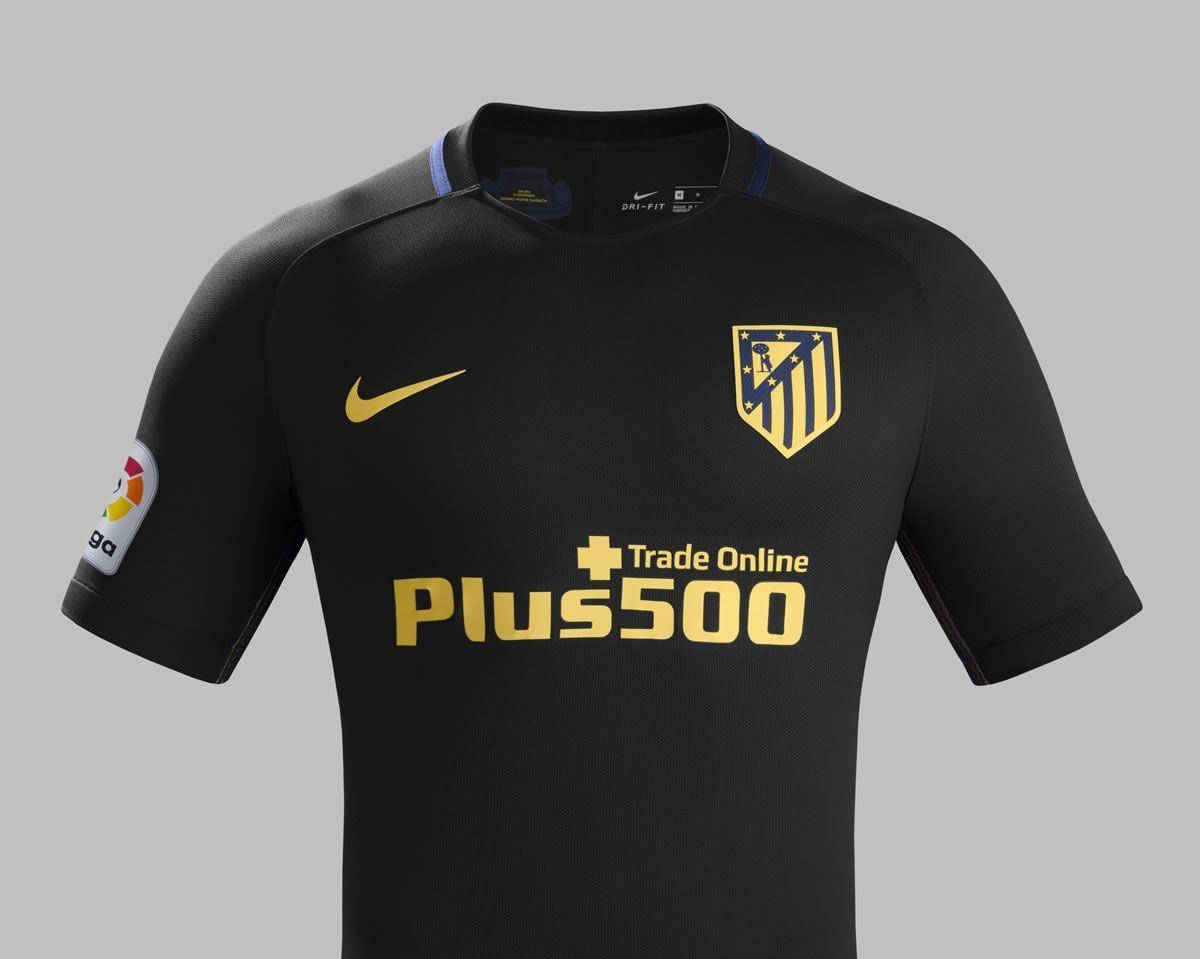 Camiseta suplente del Atlético de Madrid para 2016/2016 | Foto Nike