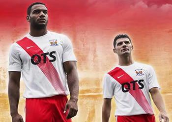 Camiseta suplente Nike del Kilmarnock FC de Escocia para 2016/2017 | Foto web oficial