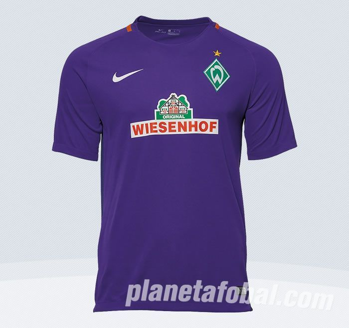 Camiseta suplente del Werder Bremen para 2016/2017 | Imagen Tienda Oficial