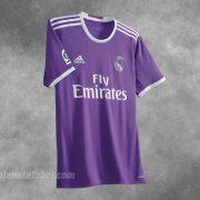 Nueva camiseta suplente del Real Madrid para 2016/2017 | Foto Adidas