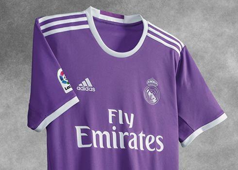 Nueva camiseta suplente del Real Madrid para 2016/2017   Foto Adidas