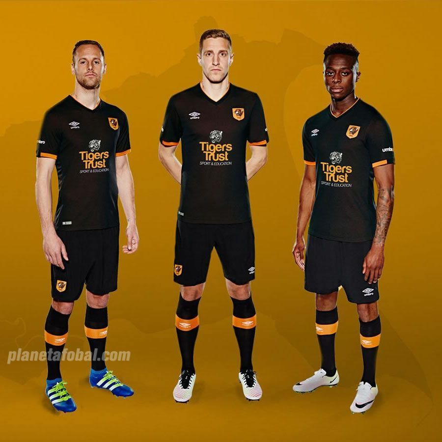 Camiseta Suplente Umbro Del Hull City 2016/2017