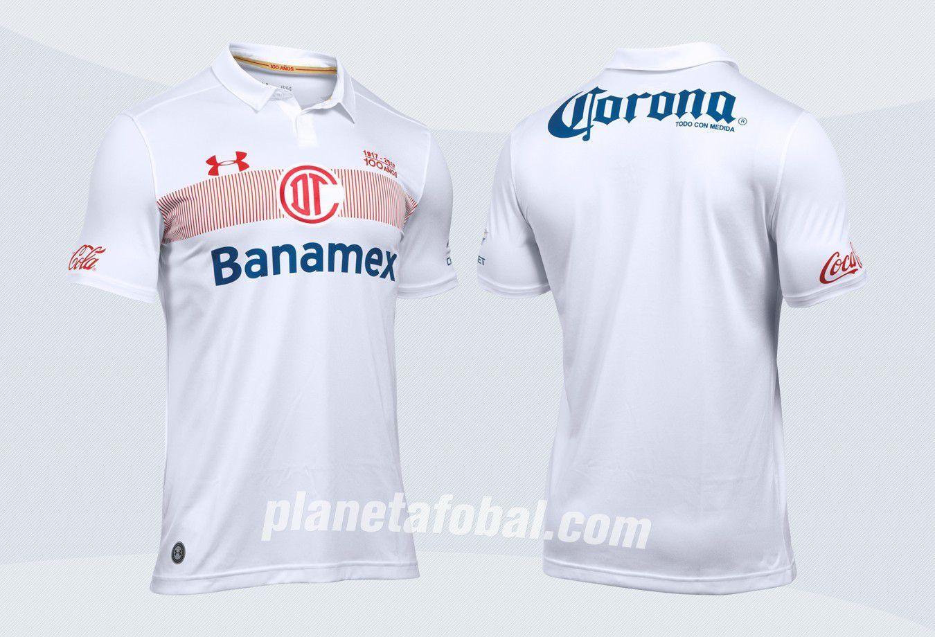 Camisetas Under Armour del Toluca 2016 2017 bc2f27859d0d8