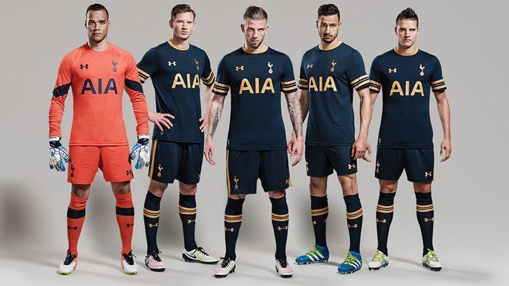 Camiseta suplente Under Armour del Tottenham 16/17 | Imagen web oficial