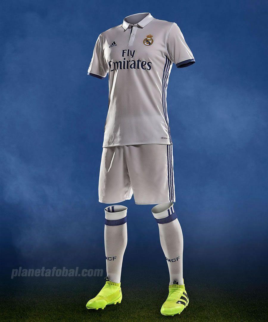 Nueva camiseta titular Adidas del Real Madrid | Foto web oficial