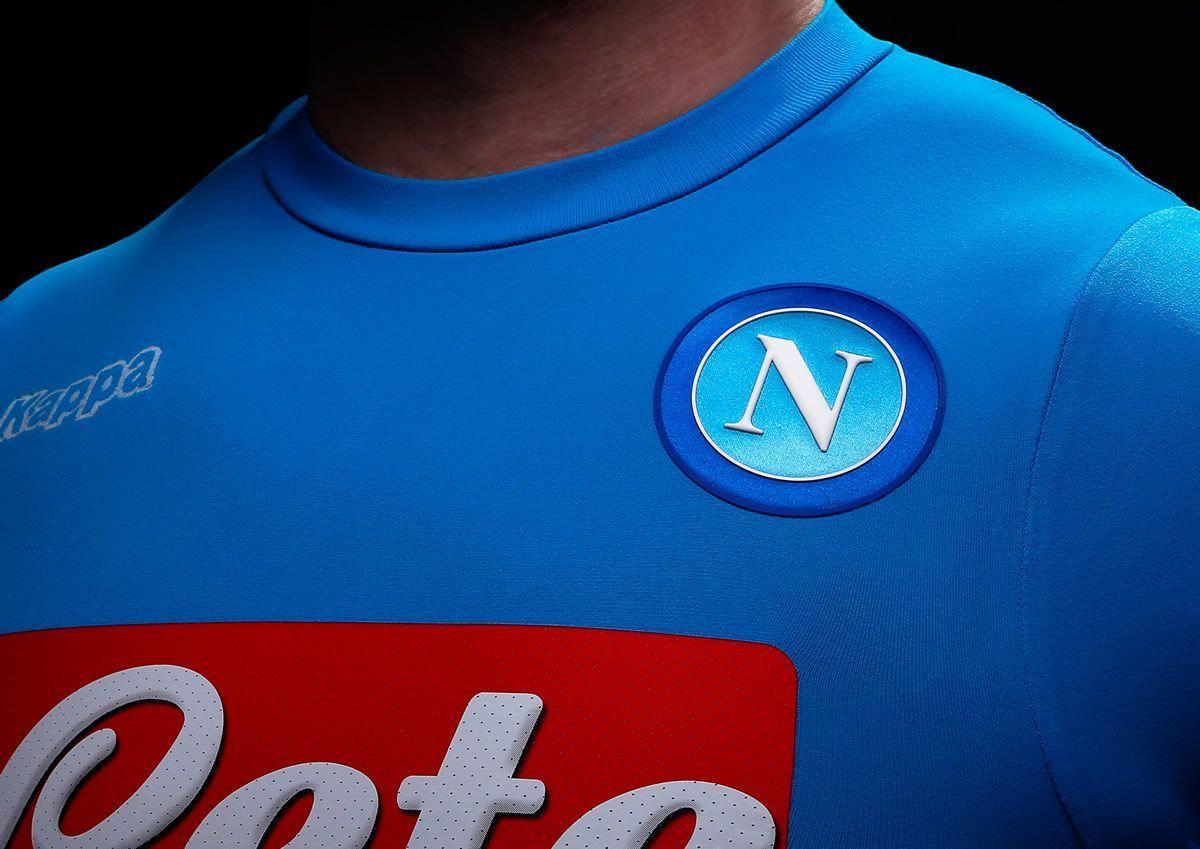 Camiseta titular del Napoli | Imágenes Tienda Oficial