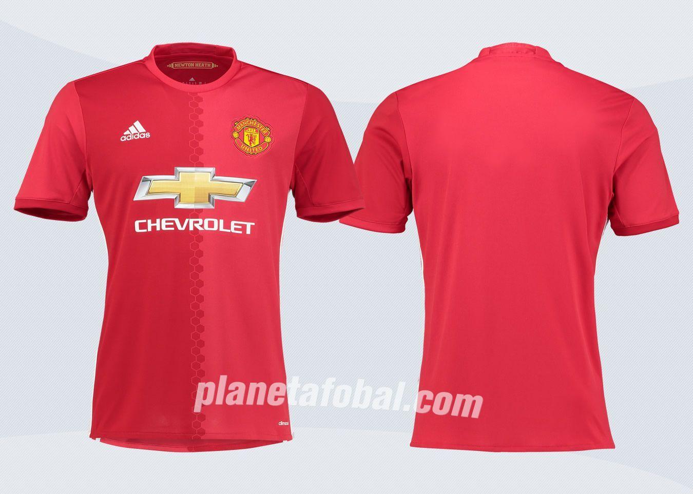 Nueva camiseta del Manchester United | Imágenes Tienda Oficial