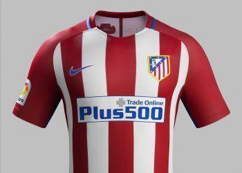Camiseta titular del Atlético de Madrid para 2016/2016 | Foto Nike