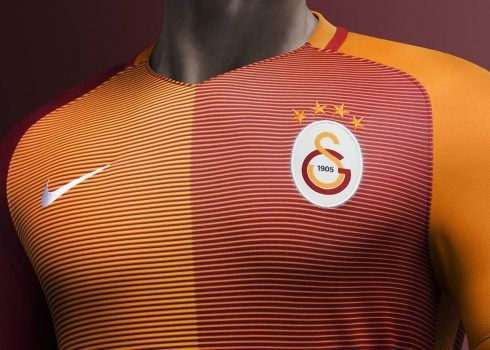 Nueva camiseta titular del Galatasaray para 2016/2017 | Foto Nike