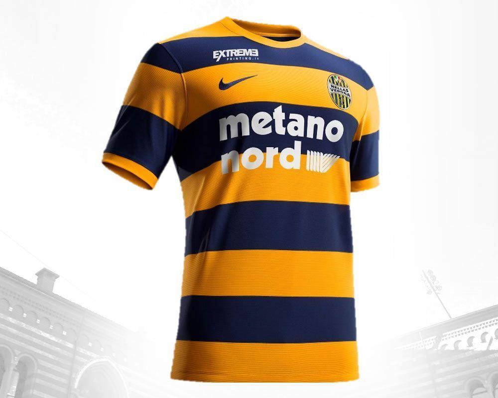 Camiseta titular Nike del Hellas Verona para 2016/2017 | Foto web oficial