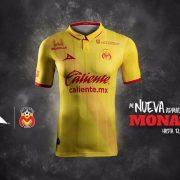 Camiseta titular de los Monarcas Morelia para 2016/2017 | Foto Pirma