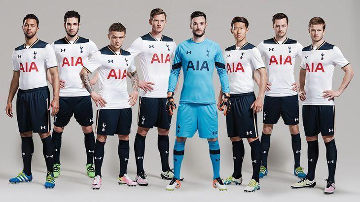 Camiseta titular Under Armour del Tottenham para 2016/2017 | Imagen web oficial