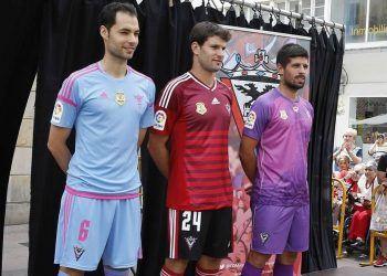 Camisetas Adidas del CD Mirandés para 2016/2017 | Foto Instagram oficial
