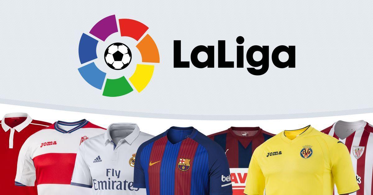 Las camisetas de LaLiga 2016/2017