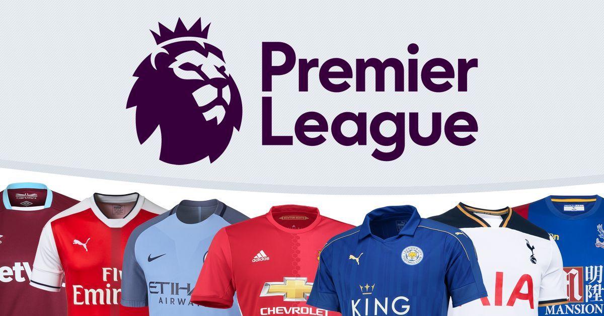 Las camisetas de la Premier League 2016/2017