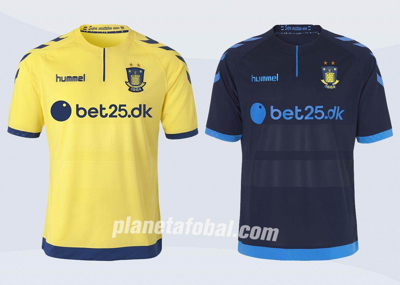 Camisetas Hummel del Brøndby IF de Dinamarca para 2016/2017 | Imágenes Tienda Oficial