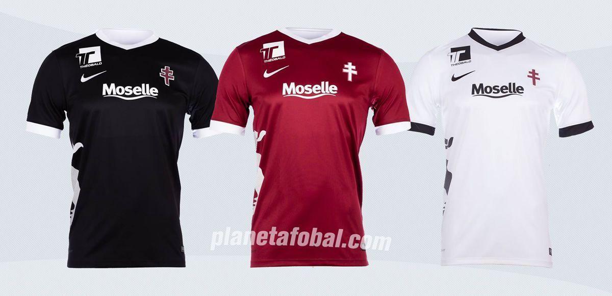 Camisetas Nike del FC Metz para 2016/2017 | Imágenes Tienda Oficial