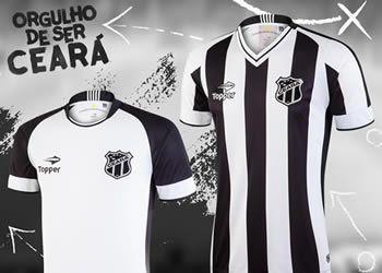 Nuevas camisetas del Ceará SC para 2016/2017 | Imágenes Topper