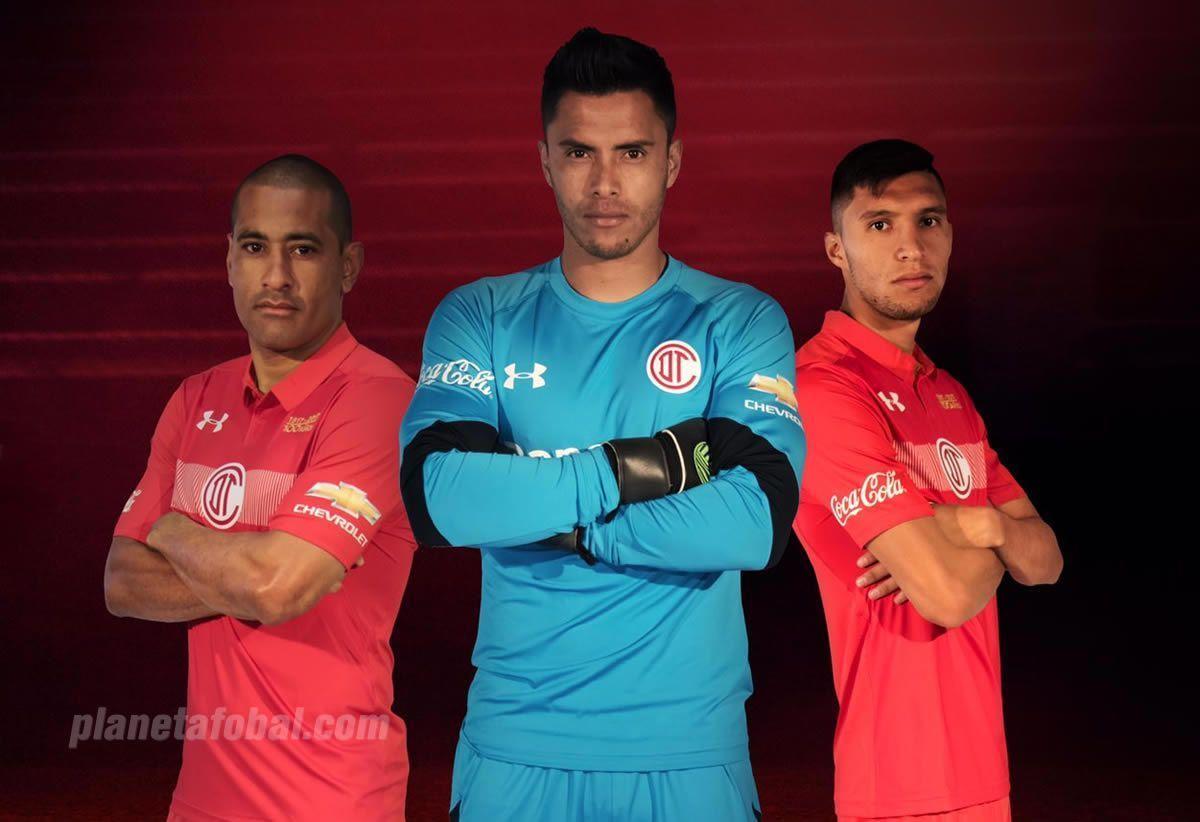 Toluca presentó sus camisetas para la temporada 2016/2017 | Foto Under Armour