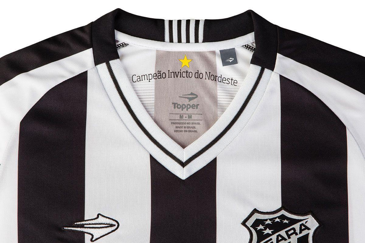 Nuevas camisetas del Ceará SC para 2016/2017 | Imagen Topper