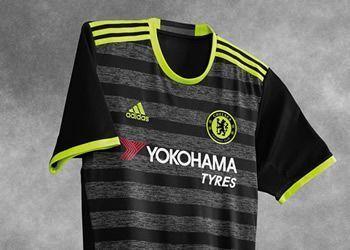 Camiseta suplente del Chelsea | Foto Adidas