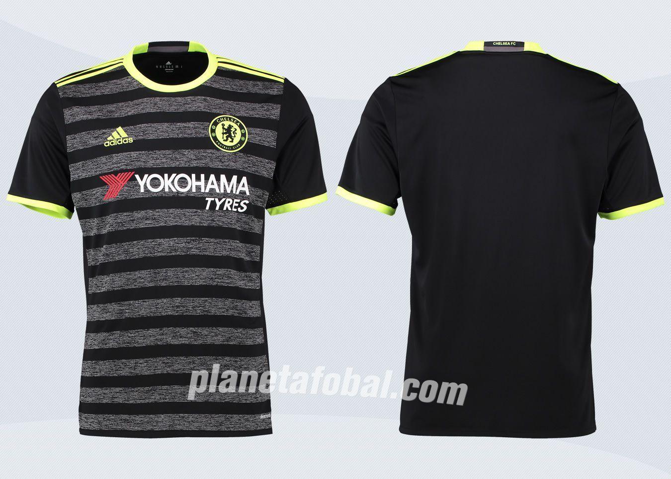 Nueva camiseta suplente Adidas del Chelsea FC  | Imágenes web oficial