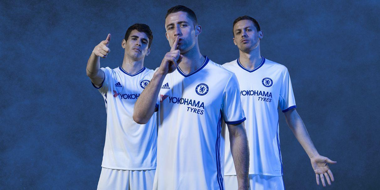 Nueva camiseta alternativa del Chelsea para 2016/2017 | Foto Adidas