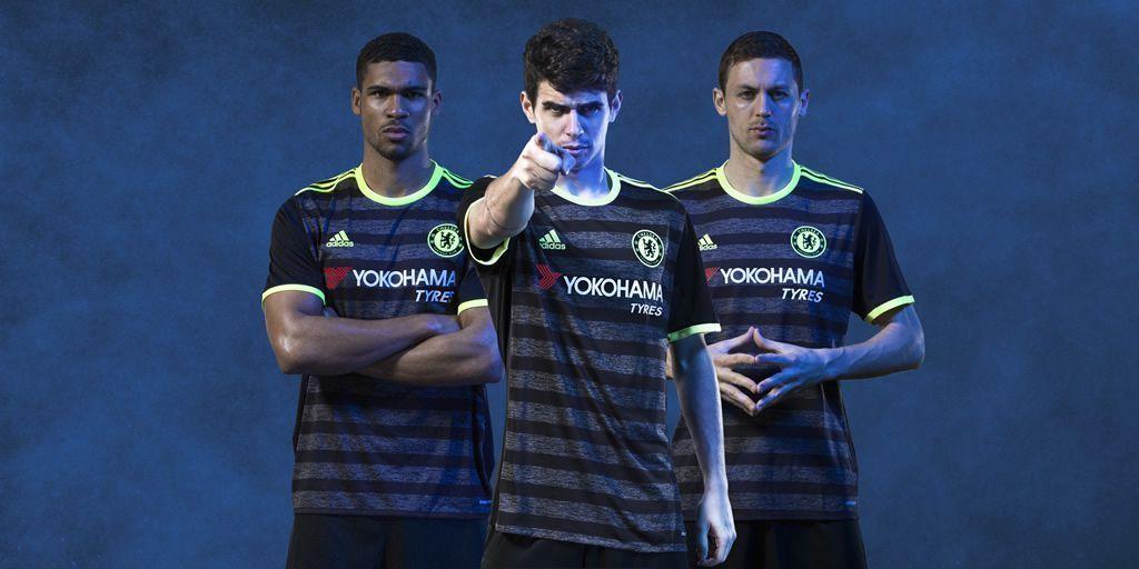 Nueva camiseta suplente Adidas del Chelsea FC para 2016/2017 | Foto web oficial