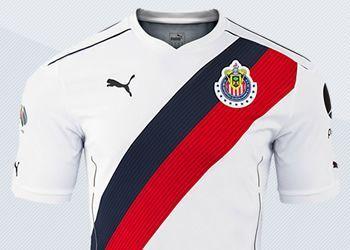 Camiseta suplente | Imágenes Twitter @ChivasFotos