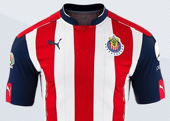 Camiseta titular | Imágenes Twitter @ChivasFotos