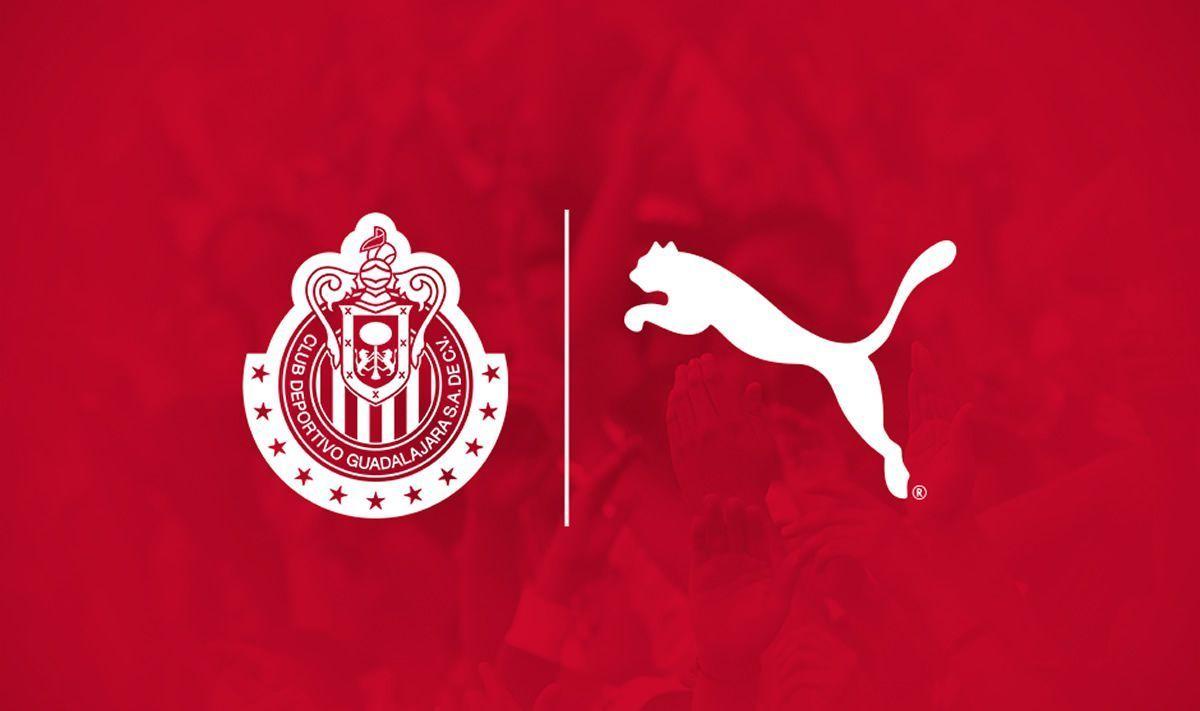 Las Chivas serán vestidas por Puma