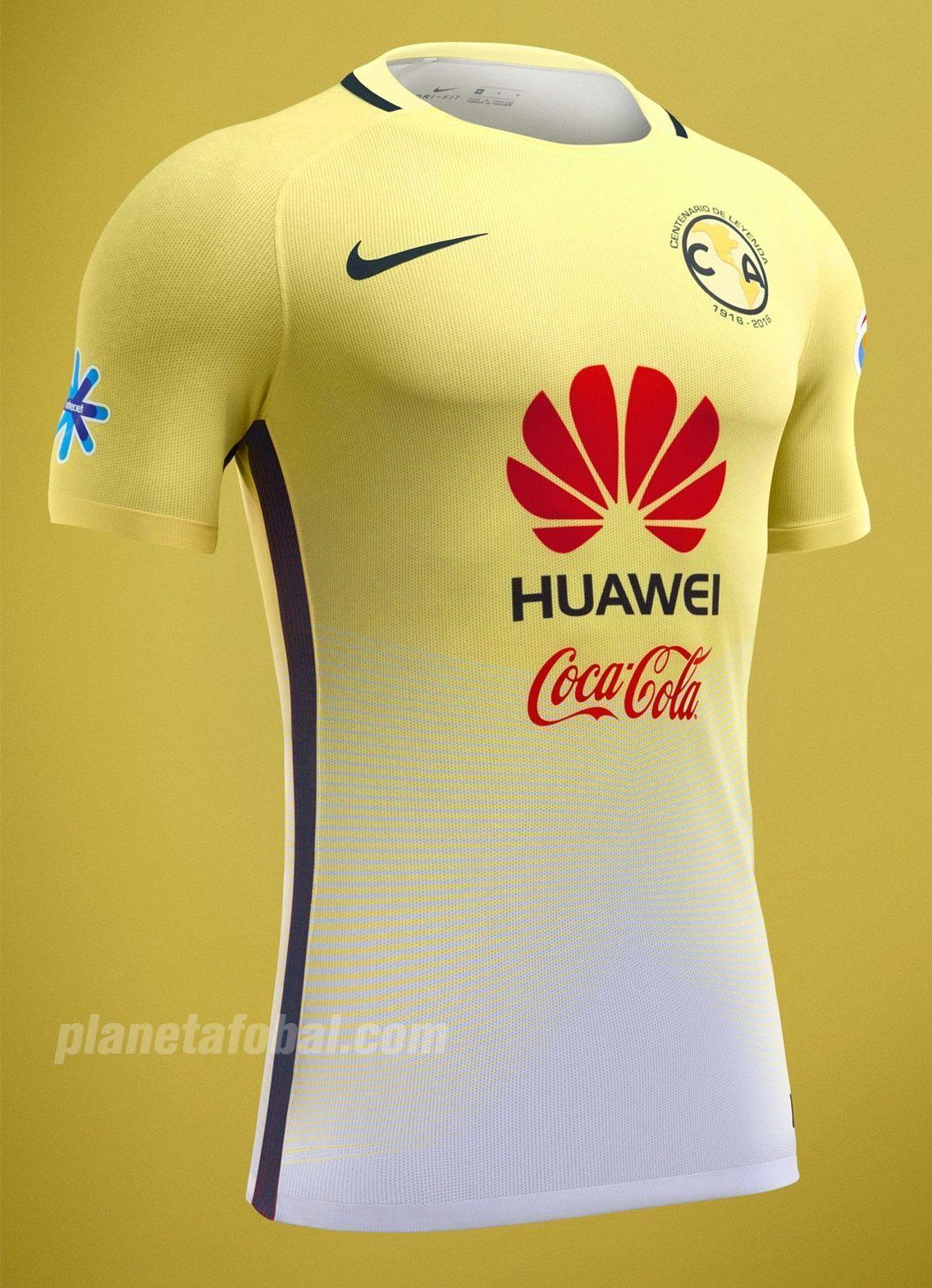 9c9e203ff Jersey Centenario Nike del Club América 2016