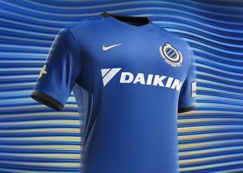 Camiseta titular del Brugge | Foto Web Oficial