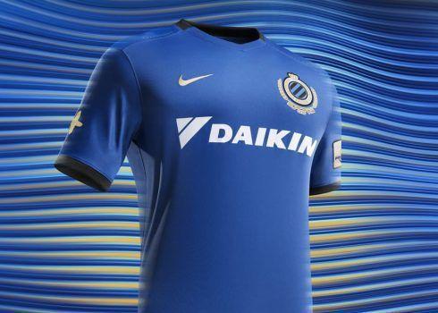 Camiseta titular del Brugge   Foto Web Oficial