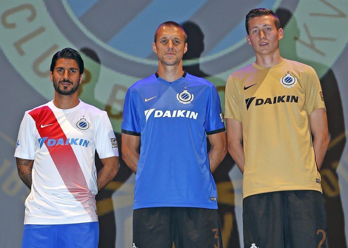 Casacas del Club Brugge | Foto Web Oficial