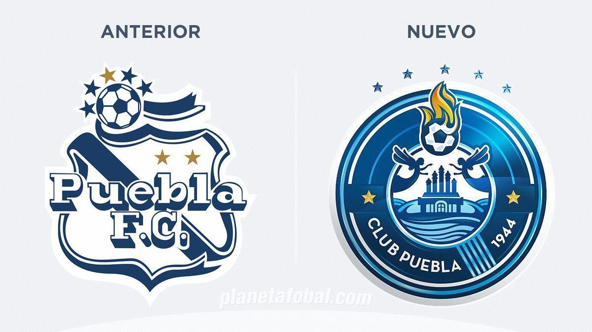 Club Puebla cambia de escudo