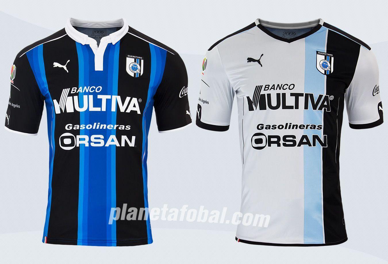 Nuevas casacas del Querétaro | Foto Web Oficial