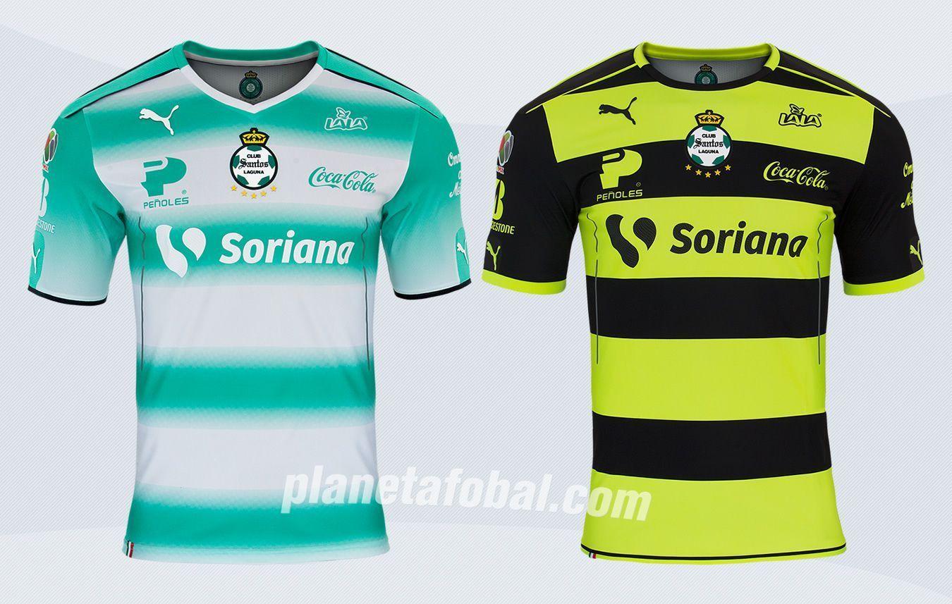 Nuevas camisetas del Santos Laguna | Imágenes Web Oficial
